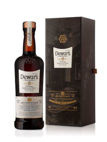 DEWARS 18 YRS THE VINTAGE 750ML