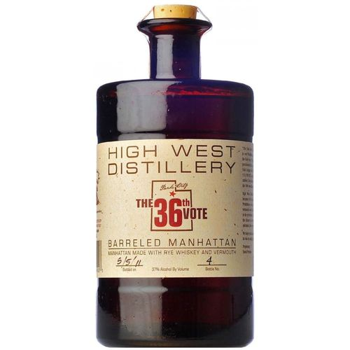 HIGH WEST DISTILLERY THE 36TH VOTE 750ML