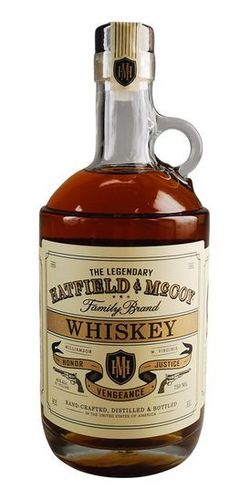 HATFIELD &  McCOY WHISKEY 750ML