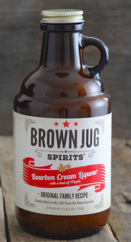 BROWN JUG SPIRITS BOURBON CREAM 750ML