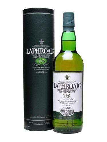 LAPHROAIG 18 YEARS SINGLE MALT