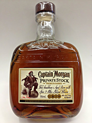CAPTAIN MORGAN PRIVATE STOCK 750ML