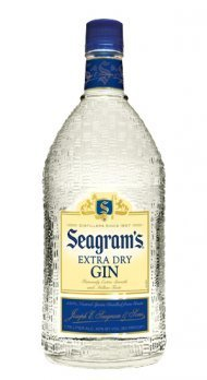 SEAGRAMS  EXTRA DRY GIN 1.75