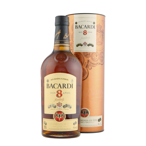 BACARDI 8 YEARS 750ML