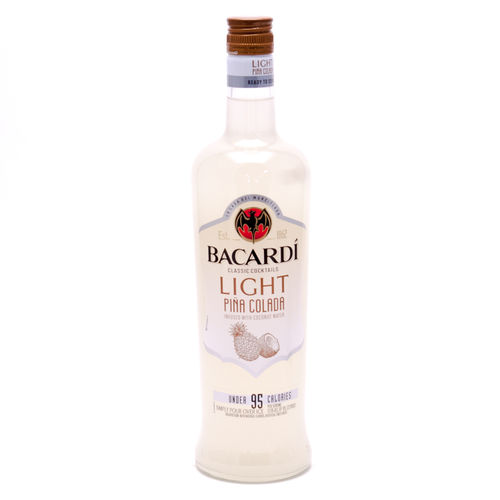 BACARDI  LIGHT PINA COLADA 750ML