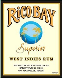 RICO BAY WHITE SUPERIOR RUM 1L