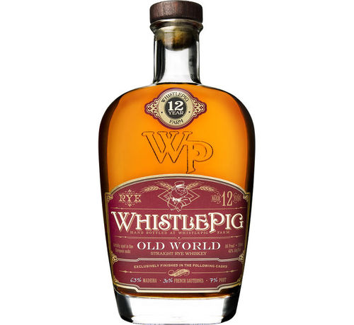 WHISTLEPIG OLD WORLD PORT 12 YEAR