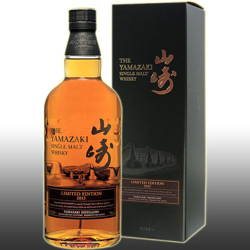 THE YAMAZAKI SINGLE MALT LIMITED EDITION 2015