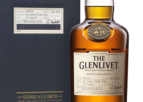 THE GLENLIVET PULLMAN CLUB CAR 18 YEARS