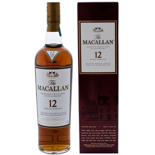 THE MACALLAN 12 YEARS 375ML