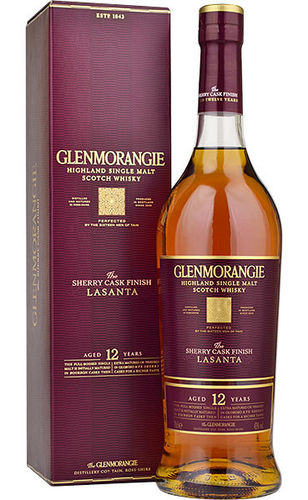 GLENMORANGIE  THE SHERRY CASK 12 YRS