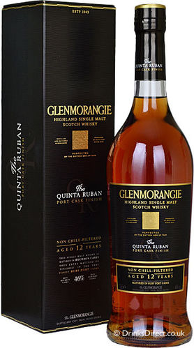 GLENMORANGIE  THE QUINTA PORT CASK 12 YR