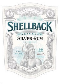 SHELLBACK SILVER RUM 375ML