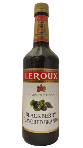 LEROUX BLACKBERRY BRANDY 1L