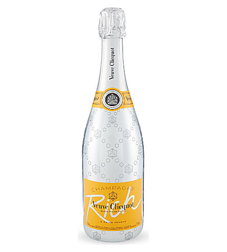 VEUVE CLICQUOT SILVER RICH 750ML