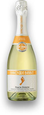 BAREFOOT  BUBBLY PEACH FUSION