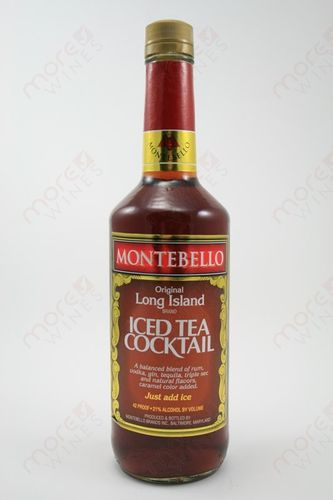 MONTEBELLO ICE TEA 750ML