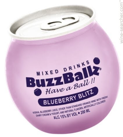 BUZZBALLZ BLUEBERRY BLITZ 200ML
