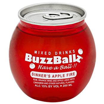 BUZZBALLZ SINNER'S APPLE FIRE 200ML