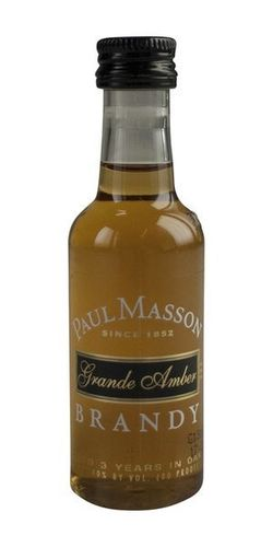 PAUL MASSON BRANDY 50ML