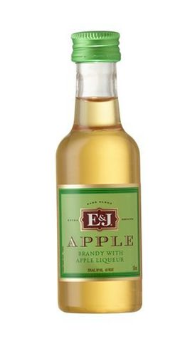 E&J APPLE 50ML