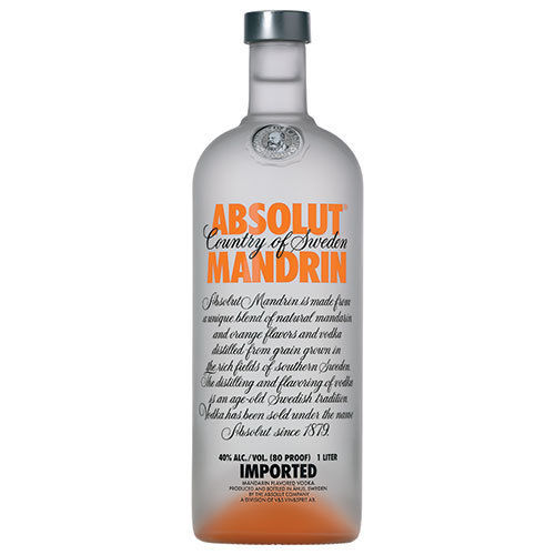 ABSOLUT MANDRIN VODKA 1.75L