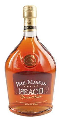 PAUL MASSON PEACH BRANDY 1.75L