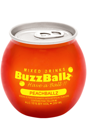 BUZZBALLZ PEACH 200ML