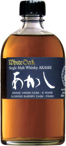 AKASHI SINGLE MALT WHISKY 5 YR