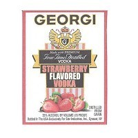 GEORGI STRAWBERRY 375ML