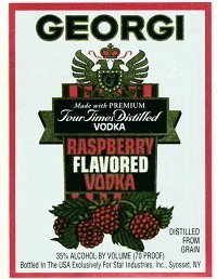 GEORGI RASPBERRY 375ML