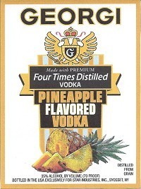 GEORGI PINEAPPLE 750ML