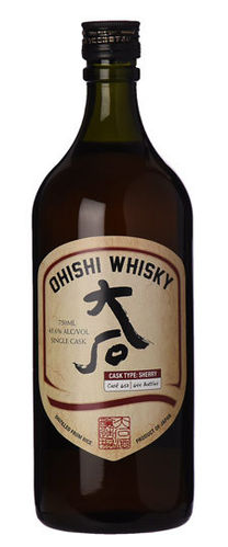 OHISHI WHISKY SINGLE CASK SHERRY