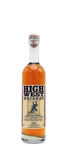 HIGH WEST WHISKEY AMERICAN 375ML