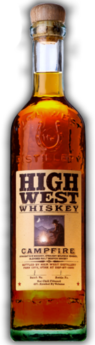 HIGH WEST WHISKEY CAMPFIRE 375ML