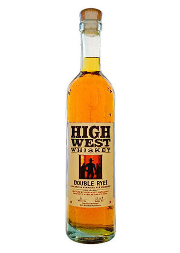HIGH WEST WHISKEY DOUBLE RYE 375ML