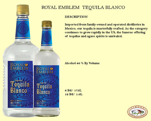 ROYAL EMBLEM TEQUILA 1.7L