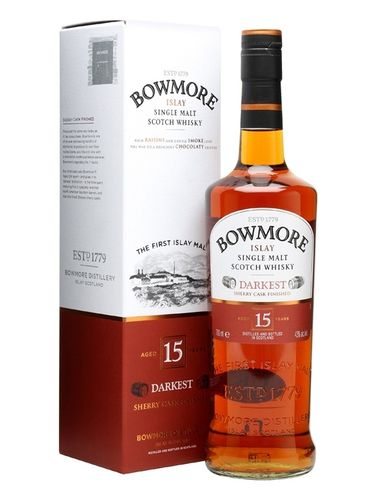 BOWMORE ISLAY MALT 15YEARS